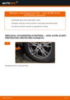 Kako zamenjati avtodel volanski končnik na avtu Audi A4 B6 Avant – vodnik menjave