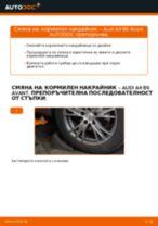 Препоръки от майстори за смяната на AUDI Audi A4 b7 2.0 TDI 16V Носач На Кола