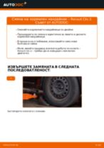 Как се сменя и регулират Шарнири на RENAULT CLIO: pdf ръководство
