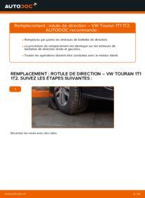 Comment effectuer un remplacement de Rotule De Direction sur 1.9 TDI Touran 1t1 1t2