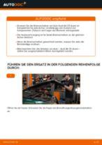 Schritt-für-Schritt-PDF-Tutorial zum Handbremsseil-Austausch beim Audi Q7 4L