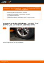 LEXUS CT Federbein: Online-Handbuch zum Selbstwechsel
