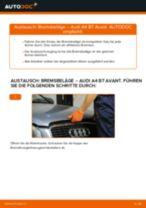 Wie Audi A4 B7 Avant Bremsbeläge vorne wechseln - Anleitung