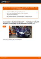 Wechseln von Spurgelenk VW PASSAT: PDF kostenlos