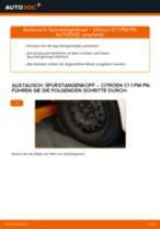 Installation von Spurkopf CITROËN C1 (PM_, PN_) - Schritt für Schritt Handbuch