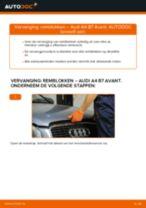 Hoe remblokken vooraan vervangen bij een Audi A4 B7 Avant – vervangingshandleiding