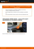 Hoe remblokken vooraan vervangen bij een Audi A4 B7 Avant – Leidraad voor bij het vervangen