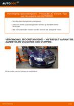 Spurstangenkopf veranderen VW PASSAT: gratis pdf