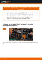 RENAULT SCALA Querlenker wechseln vorne unten hinten ( links + rechts ) Anleitung pdf