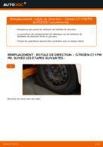 Notre guide PDF gratuit vous aidera à résoudre vos problèmes de CITROËN CITROËN C1 (PM_, PN_) 1.4 HDi Bras de Suspension