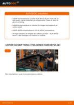 Udskift bremseskiver for - Audi A6 C5 Avant | Brugeranvisning