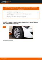 Online manual til udskiftning på egen hånd af Bremseklods på Audi 200 Avant