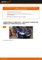 Udskift styrekugle - VW Passat 3C B6 Variant | Brugeranvisning