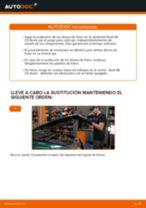 Cómo cambiar: discos de freno de la parte delantera - Audi A6 C5 Avant | Guía de sustitución