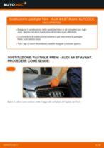 Come cambiare pastiglie freno della parte anteriore su Audi A4 B7 Avant - Guida alla sostituzione
