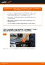 Come cambiare dischi freno della parte anteriore su Audi A4 B7 Avant - Guida alla sostituzione