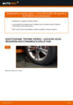 Come cambiare Cuffia sterzo Renault Scenic 1 - manuale online