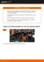 DIY manual on replacing OPEL SPEEDSTER 2005 Brake Caliper Repair Kit