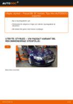 Byta styrled på VW Passat 3C B6 Variant – utbytesguide
