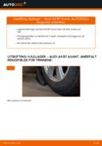 Slik bytter du hjullager fremme på en Audi A4 B7 Avant – veiledning