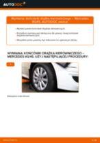 Zalecenia mechanika samochodowego dotyczącego tego, jak wymienić MERCEDES-BENZ Mercedes W168 A 170 CDI 1.7 (168.009, 168.109) Wahacz