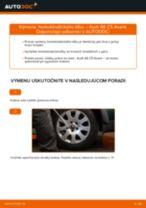 Ako vymeniť homokinetický kĺb na Audi A6 C5 Avant – návod na výmenu