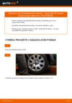Jak vyměnit homokinetický kloub na Audi A6 C5 Avant – návod k výměně