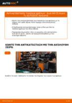 Οι συστάσεις του μηχανικού αυτοκινήτου για την αντικατάσταση AUDI Audi A4 b7 2.0 TDI 16V Τακάκια Φρένων