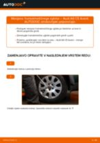 Kako zamenjati avtodel homokinetični zglob na avtu Audi A6 C5 Avant – vodnik menjave