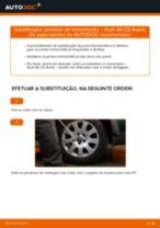 Recomendações do mecânico de automóveis sobre a substituição de AUDI Audi A6 4f2 2.0 TDI Rolamento da Roda