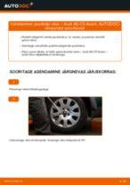 Audi A6 C5 Sedaan töökoja käsiraamat