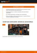 DIY käsiraamat Piduriketas asendamiseks AUDI A4
