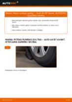 Kā nomainīt: priekšas riteņa rumbas gultņa Audi A4 B7 Avant - nomaiņas ceļvedis