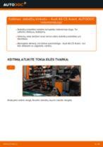 Pakeisti Stabdžių Kaladėlės AUDI A6: instrukcija
