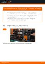 Schimbare Placute Frana AUDI A6: pdf gratuit
