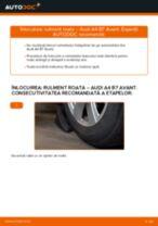 Cum să schimbați: rulment roata din față la Audi A4 B7 Avant   Ghid de înlocuire
