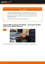 Cum să schimbați: plăcuțe de frână din față la Audi A4 B7 Avant   Ghid de înlocuire