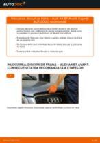Cum să schimbați: discuri de frână din față la Audi A4 B7 Avant   Ghid de înlocuire