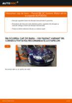 Cum să schimbați: cap de bara la VW Passat 3C B6 Variant   Ghid de înlocuire