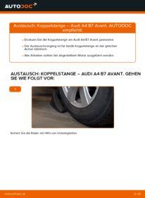Wie der Wechsel durchführt wird: Koppelstange 2.0 TDI Audi A4 B7 Avant tauschen