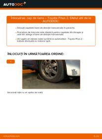 Cum să efectuați înlocuirea: Cap de bara la 1.5 (NHW2_) Toyota Prius 2