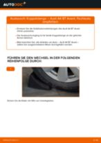 Wie Audi A4 B7 Avant Koppelstange hinten wechseln - Anleitung