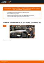 Hoe brandstoffilter vervangen bij een BMW E39 touring – vervangingshandleiding