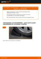Hoe schokdempers achteraan vervangen bij een Audi A4 B7 Avant – Leidraad voor bij het vervangen