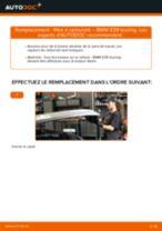 Changer Filtre à Carburant diesel et essence BMW à domicile - manuel pdf en ligne