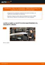 Cómo cambiar: filtro de combustible - BMW E39 touring | Guía de sustitución