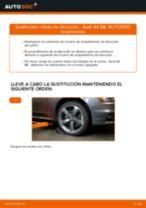 Cómo cambiar: rótula de dirección - Audi A4 B8 | Guía de sustitución