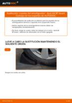 Cambiar Bobina de Encendido AUDI A4: manual de taller