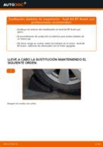 Cómo cambiar: bieletas de suspensión de la parte trasera - Audi A4 B7 Avant | Guía de sustitución