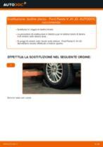 Come cambiare testine sterzo su Ford Fiesta V JH JD - Guida alla sostituzione